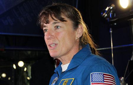 Всесвітній тиждень космосу 2019, візит астронавтки NASA