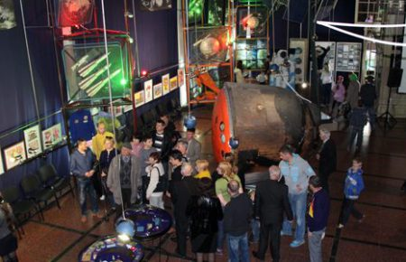Музей відзначив Всесвітній день космонавтики