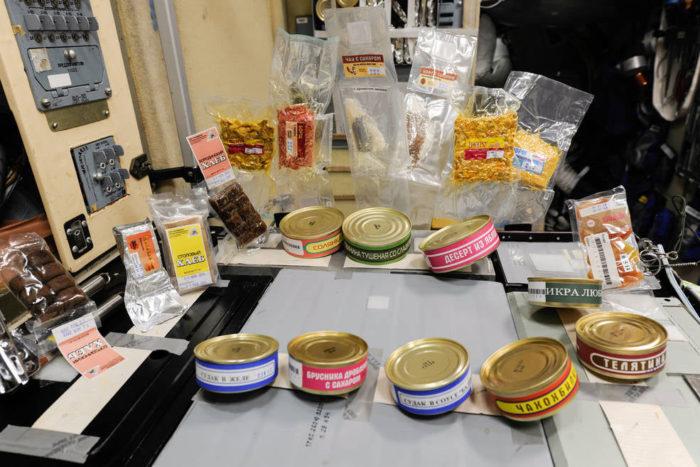 Їжа в космосі