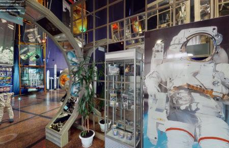 Віртуальний 3D тур Національним  музеєм космонавтики ім. С.П. Корольова