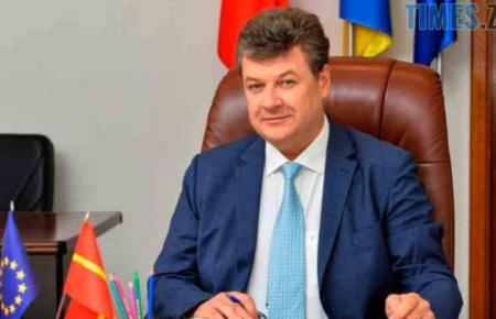 Привітання від голови Житомирської обласної державної адміністрації Віталія Бунечко